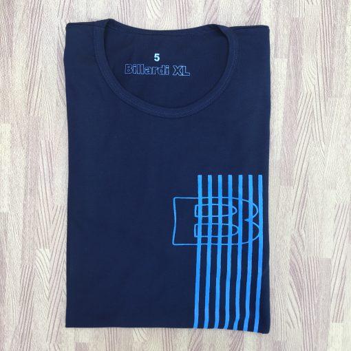 Polera Diseño Rayas Azul Marino